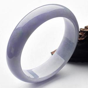 (超值推荐)糯冰种紫罗兰手镯(61.9mm)