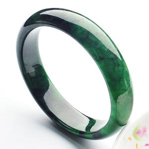 (超值推荐)糯冰种廯加绿手镯(57mm)