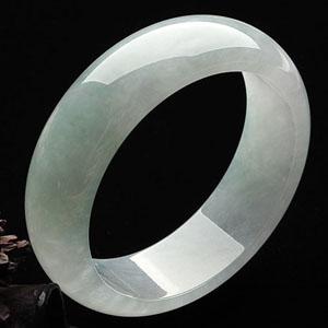 糯冰种晴水手镯(59.5mm)